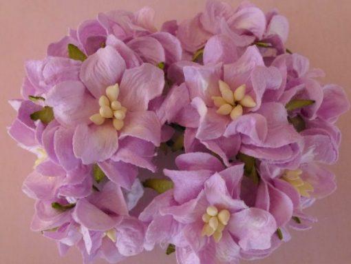 Fiori di Carta - Gardenia piccola Lilla