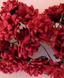 Fiori di Carta - Margherite Rosso Profondo