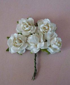 Fiori di Carta - Roselline Cottage Bianco