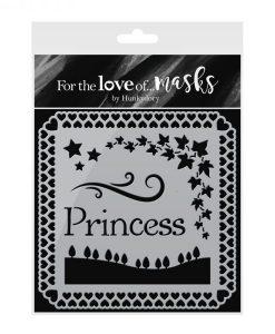 Stencil Mascherine - Pretty Princesses Mascherine Scrapbooking Cardmaking Hunkydory Italia