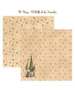 Hechizo de Navidad 05 (Natale) - Cartoncino 12x12