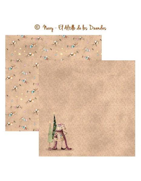 Collezione Hechizo de Navidad Scrapbooking Italia El Altillo de los Duendes