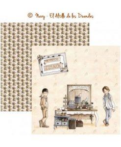 Mi comunion (Comunione) 04 - Cartoncino 12x12 Scrapbooking El Altillo de los Duendes Italia