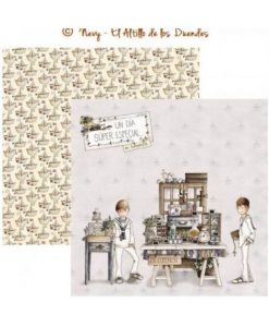 Mi comunion (Comunione) 06 - Cartoncino 12x12 Scrapbooking El Altillo de los Duendes Italia