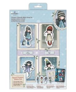Christmas Collection - Set di Timbri Gorjuss Santoro (Natale)