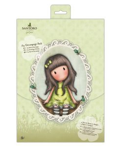 Scrapbook Gorjuss Santoro - In the Garden Decoupage Pack Gorjuss Italia Carte Scrapbooking