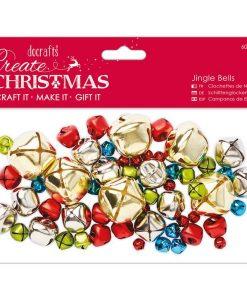 Charms - Campanelline di Natale (60 pezzi) Scrapbooking Decorazioni