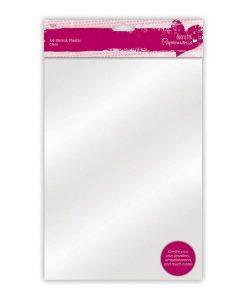 Pellicola termoretraibile in plastica - A4 (10 pezzi) Scrapbooking Bigiotteria Decoupage