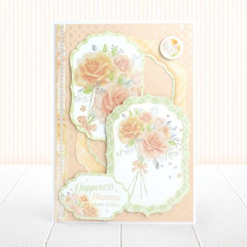 Cartoncino Adorable Scorable - Bouquet Perlato (Pearl Bouquet Foiled A5)