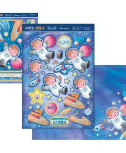 Kit per scrapbooking Topper Set - Cute & Cuddly Out of this World