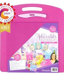 Tappetino piegacarte per scrapbooking - The Adorable Scoreboard (rosa)