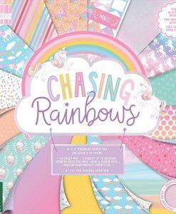 Chasing Rainbows (20,32 x 20,32 cm) - Bloccheto Cartoncino da 48 fogli