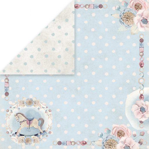 Baby World - Blocchetto Cartoncino 12x12