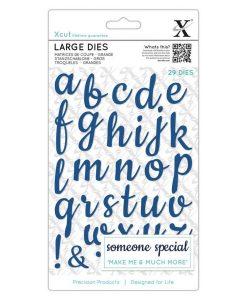 Fustella Alfabeto lettere minuscole
