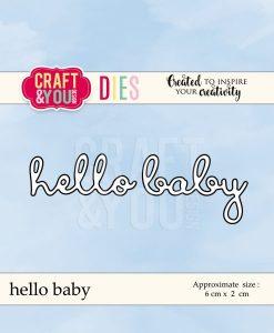 Fustella - Hello Baby