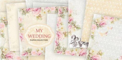 My Wedding - Blocchetto Cartoncino 12x12