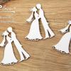 Gli Sposi - elementi fustellati (3 pezzi)