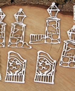 Set di Porte invernali Fustellate (7 pezzi)