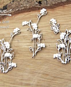 Set di fiori fustellati