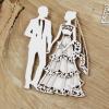 Set doppio Matrimonio Fustellato