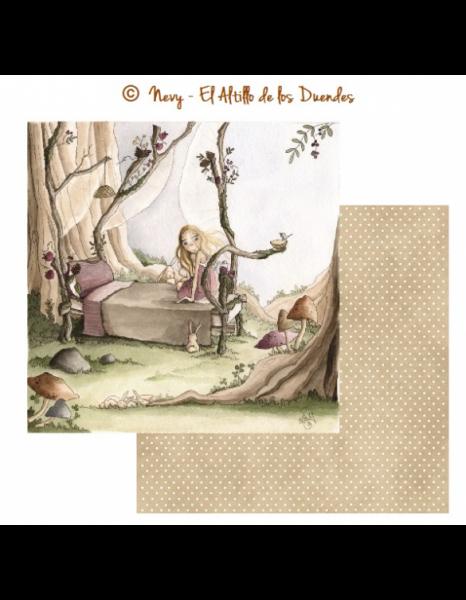 Collezione Susurros de Hada – Cartoncino 12×12″