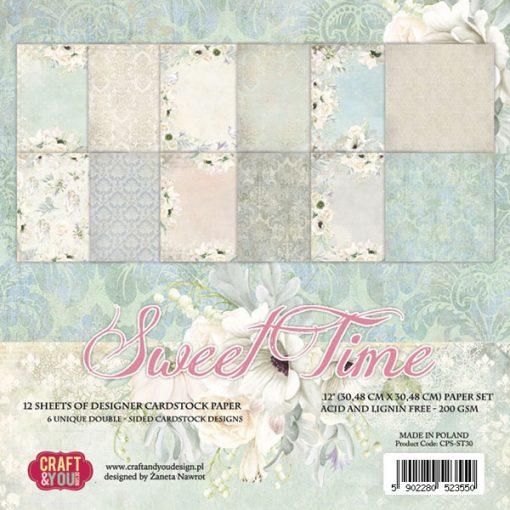 Sweet Time - Blocchetto Cartoncino 12x12