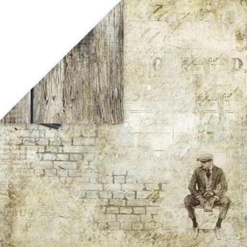 Vintage Man - Blocchetto Cartoncino 12x12