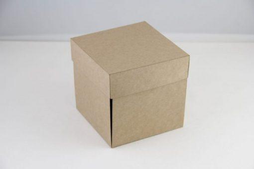 Explosion Box Scrapbooking Kraft