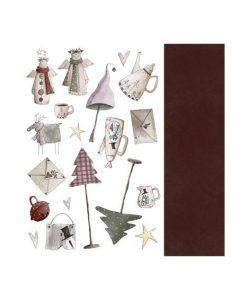 Collezione Angel de mi Navidad - Cartoncino 12x12