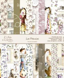 """Collezione Las Primulas - Cartoncino 12x12"""" (12 pezzi)"""