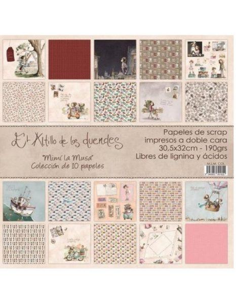 Collezione Mimi la Musa Cartoncino 12x12