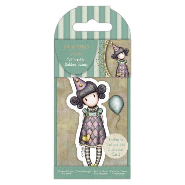 Gorjuss Timbro Pierrot Stamp