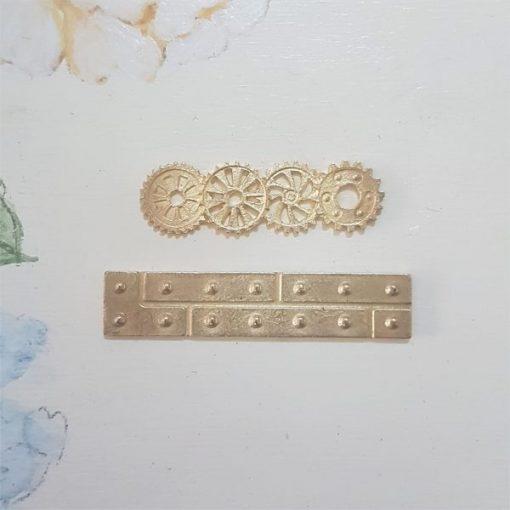 Corner side 4,5cm - abbellimento in metallo (2 pezzi)