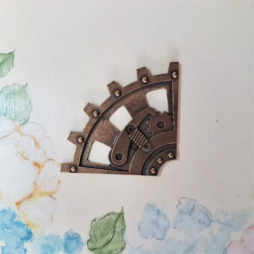 Corner upper 4cm - abbellimento in metallo