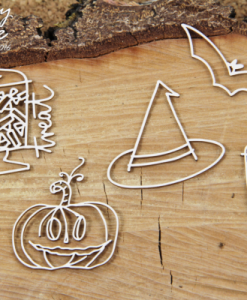 Halloween - elemento fustellato (5 pezzi)