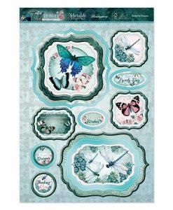 Kit per scrapbooking Luxury Topper Set - Butterfly Dreams