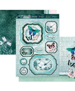Kit per scrapbooking Luxury Topper Set - Butterfly Dreams