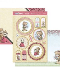 Kit per scrapbooking Luxury Topper Set - Teddy Loves Pretty Things