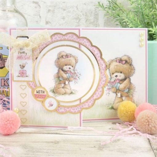 Kit per scrapbooking Luxury Topper Set - Teddy Loves Pretty Things