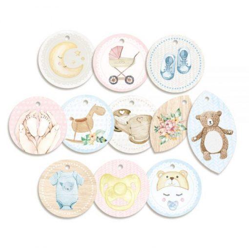 Baby Joy - 01 - Tags (set 11 pezzi)