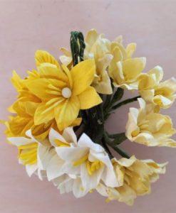 Fiori di Carta - Giglio Misto BiancoCrema (5 colori)