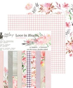 Love in Bloom - Blocchetto Cartoncino 6x6 (24 fogli)