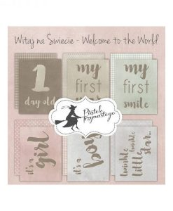 """Welcome to the World (Nascite) - Set di Journaling Cards 3x4"""""""