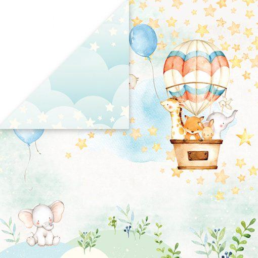 Baby Adventure - Blocchetto Cartoncino 12x12 (12 fogli) 2
