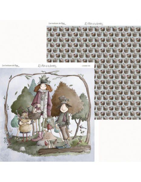 Collezione Los Hechizos de Olga - Cartoncino 12x12 (14 pezzi)