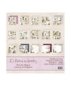 Collezione Otro Año Mágico - Cartoncino 12x12 (15 pezzi)