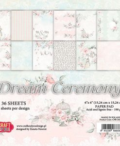 "Dream Ceremony - Blocchetto Cartoncino 6x6"" (36 fogli)"