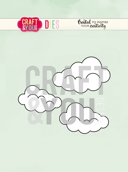 Fustella - Set di nuvole