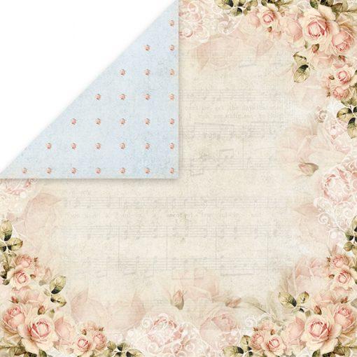 """Rose Garden - Blocchetto Cartoncino 12x12"""" (12 fogli)"""