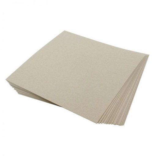 Cartoncino Kraft (grigio) - Hunkydory Essentials